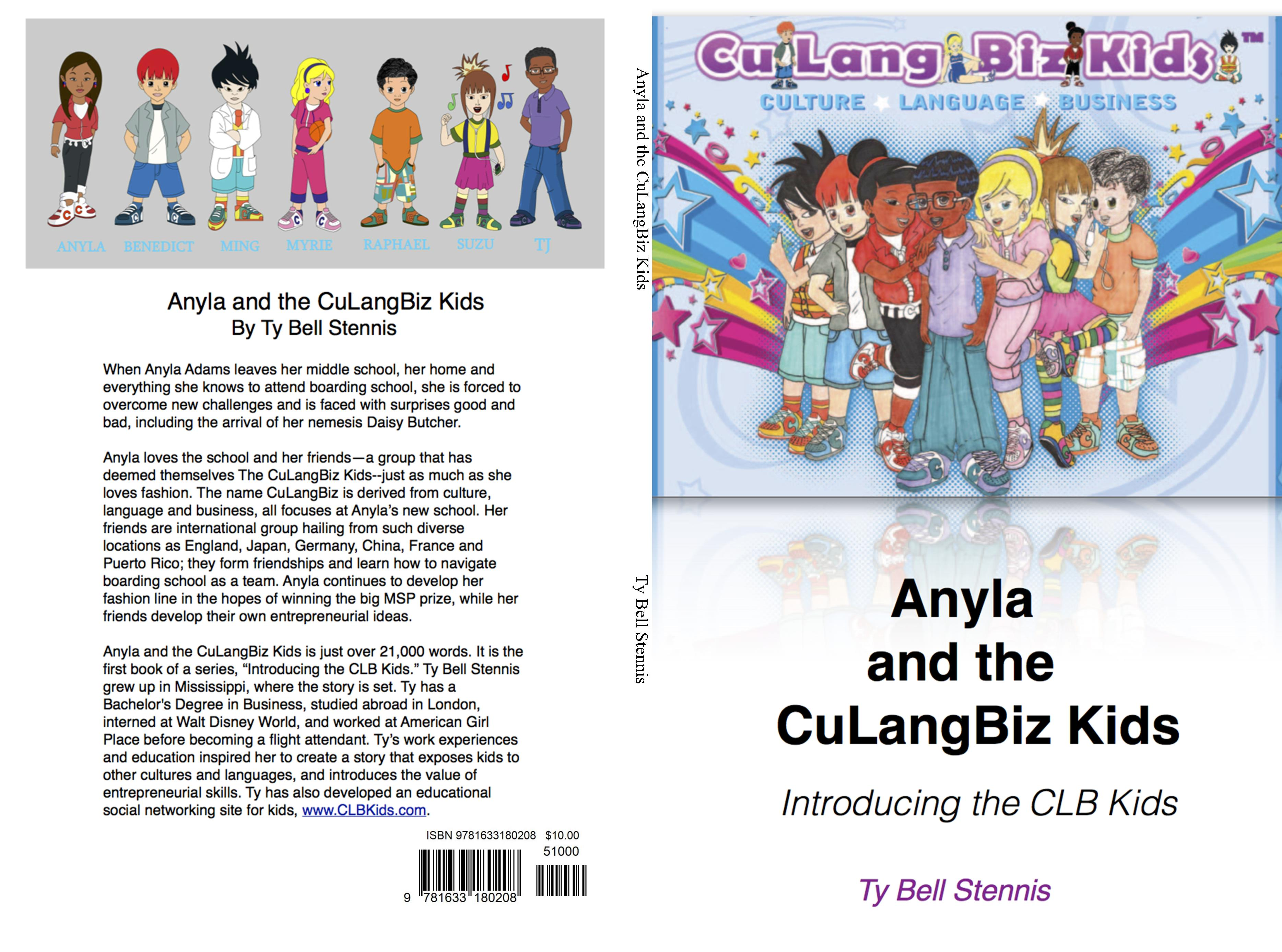Anyla and the CuLangBiz Kids cover image