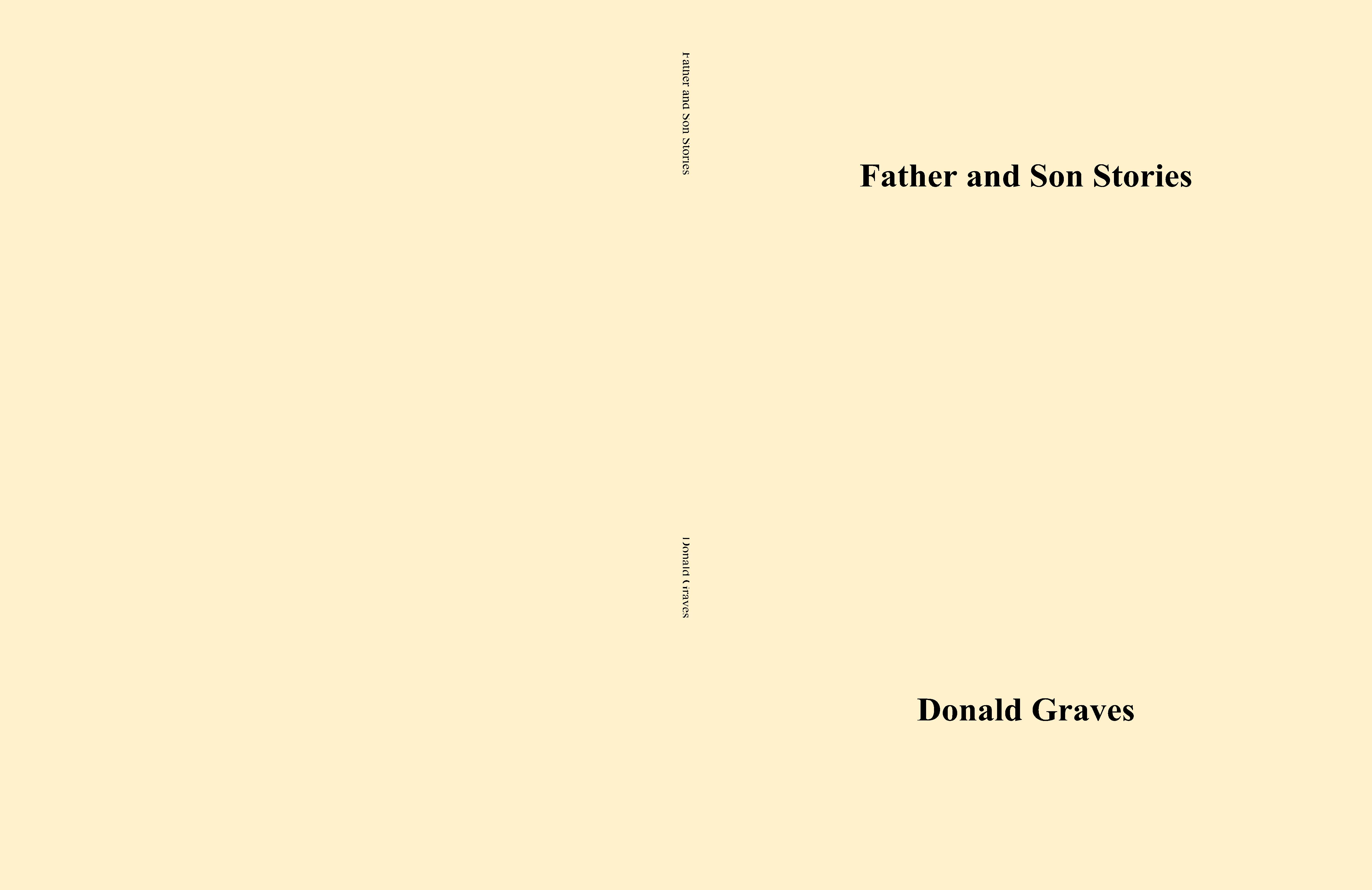 Father and Son Stories cover image