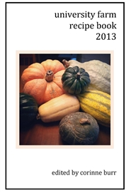 University Farm Recipe Book 2013 cover image