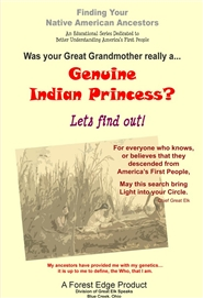 Genuine Indian Princess -Genealogy cover image