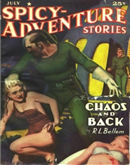 Spicy Adventures 1941 July cover image
