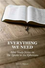 Everything We Need: Bible Study Notes on the Epistle to the Ephesians cover image