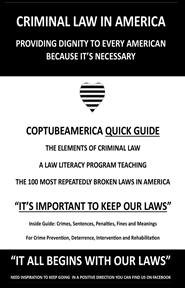 CopTubeAmerica Take/Carry Law Book cover image