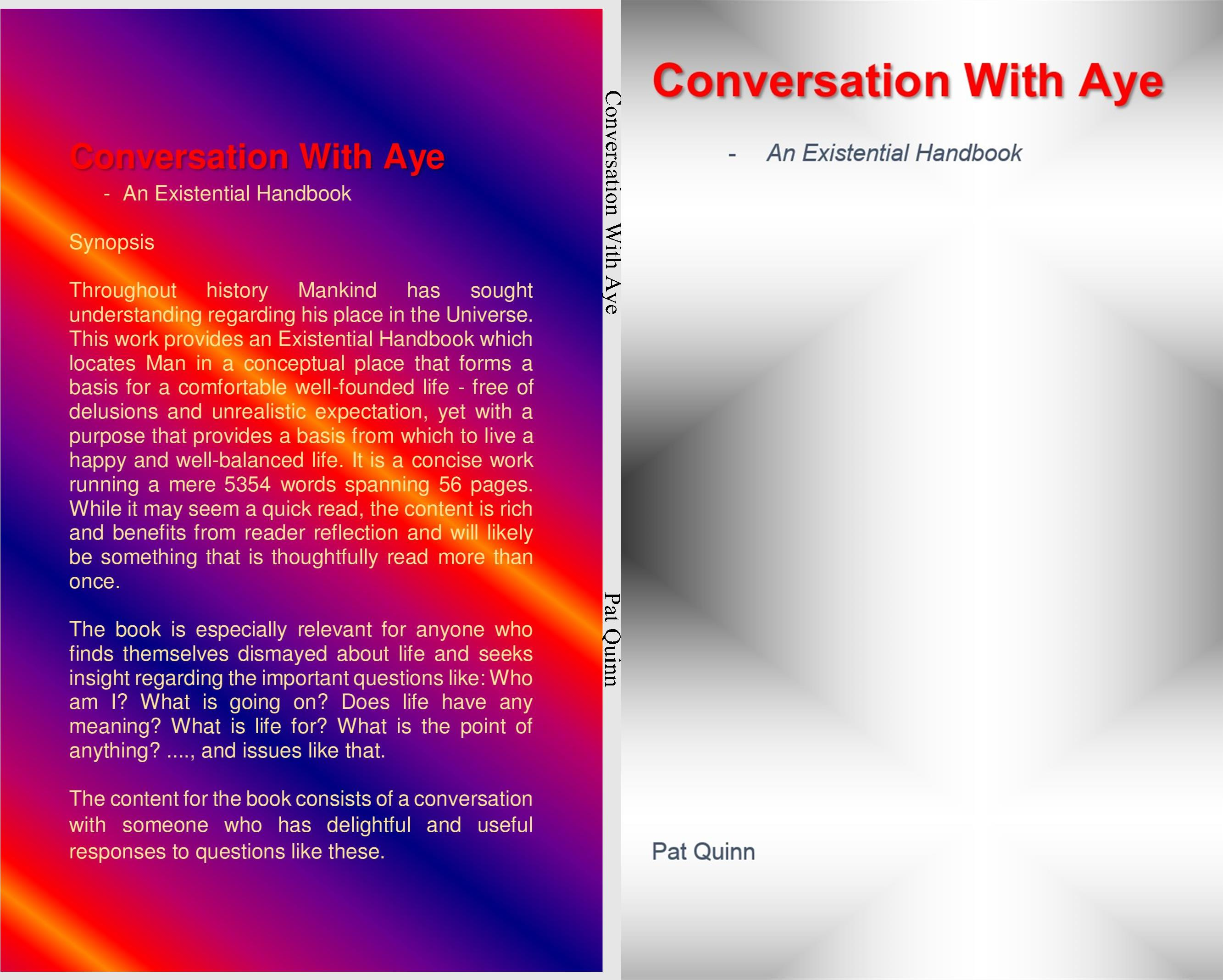 Conversation With Aye - An Existential Handbook cover image