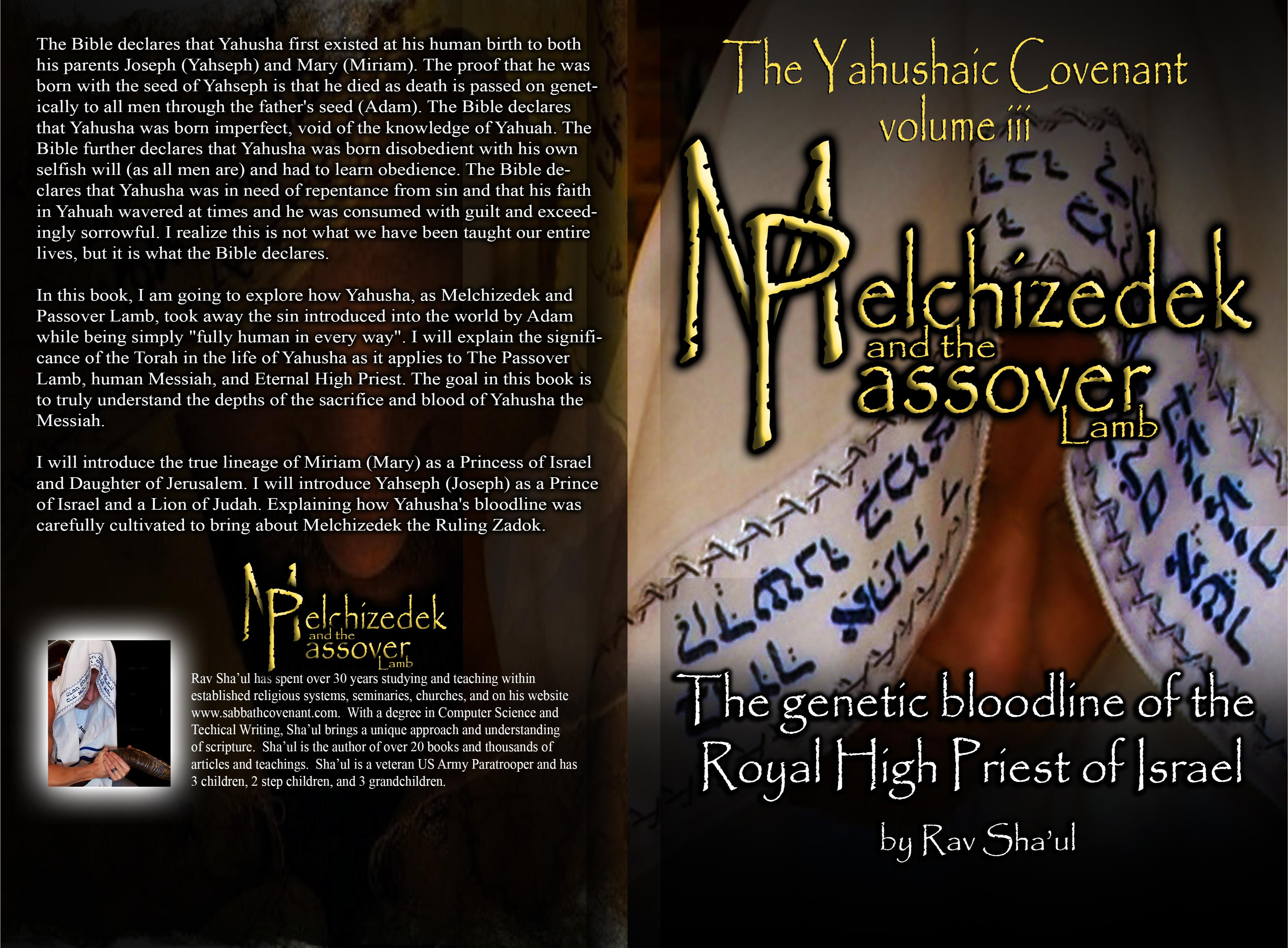 Melchizedek and the Passover Lamb cover image