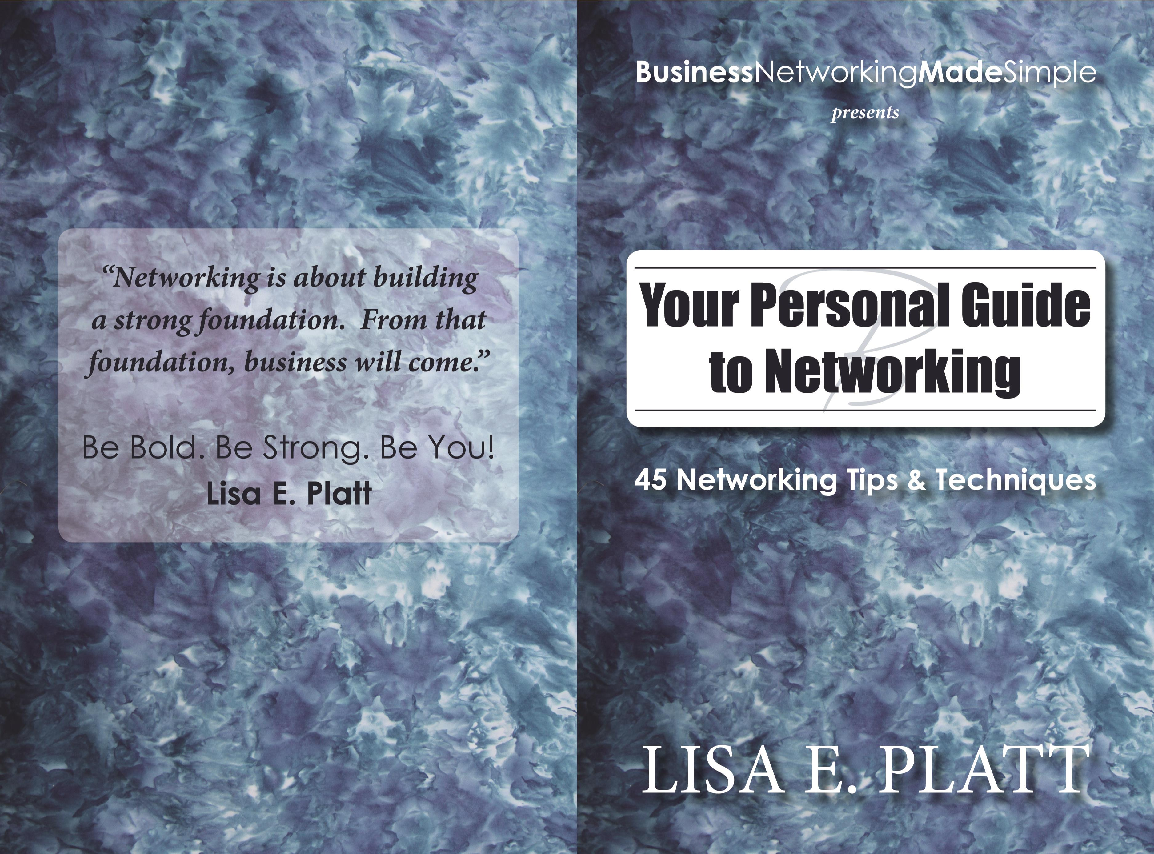 Your Personal Guide to Networking 45 Networking Tips cover image