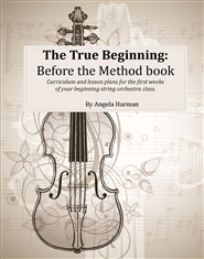 The True Beginning: Before the Method Book cover image