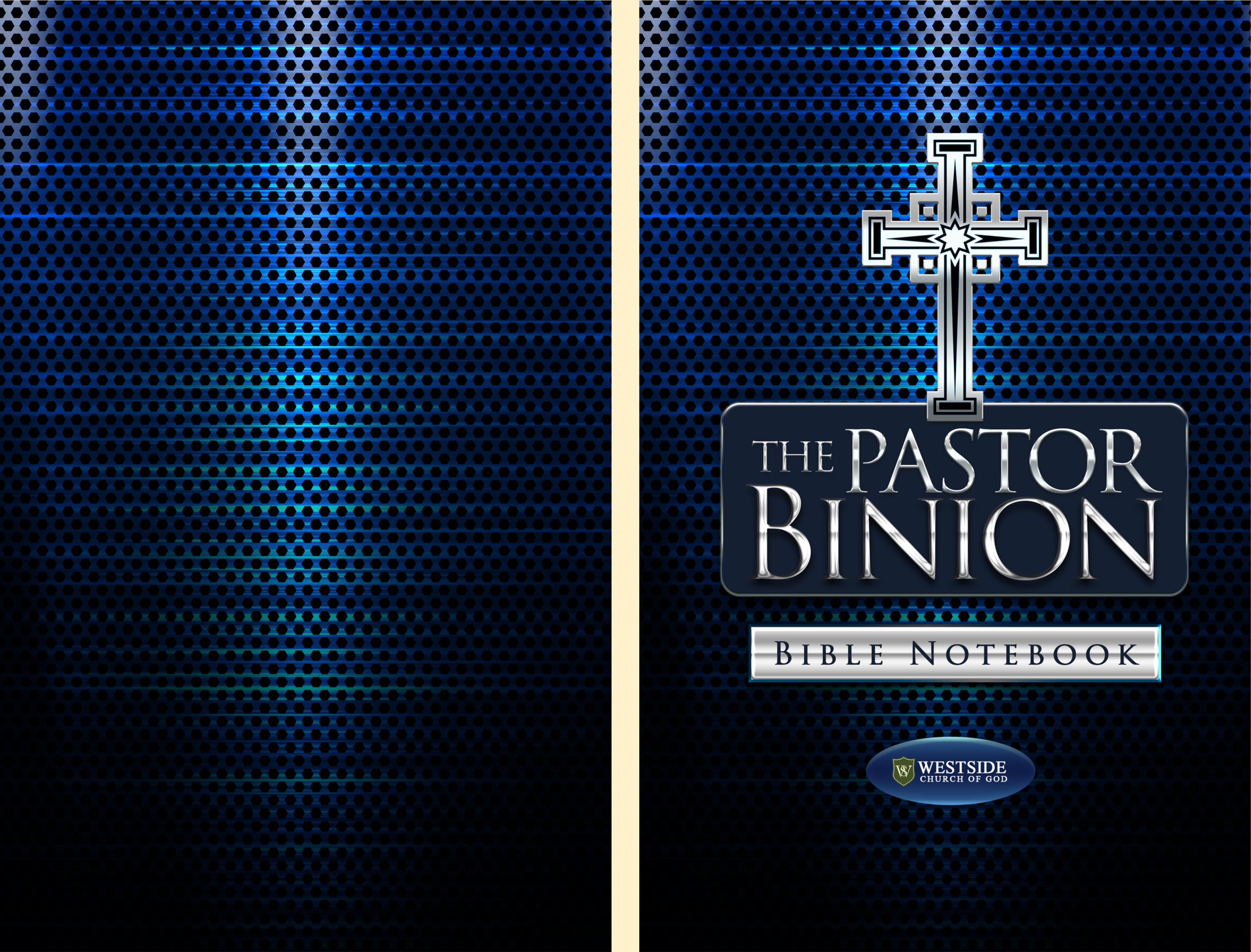 The Pastor Binion Bible Notebook cover image