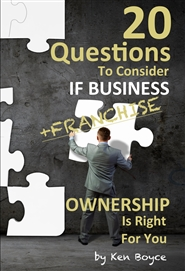 20 Question To Consider If Business (Franchise) Ownership Is Right For You cover image