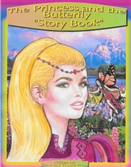 THE PRINCESS AND THE BUTTERFLY STORY BOOK cover image