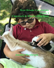 West Brooke Curriculum Grade 1 Copywork Book cover image