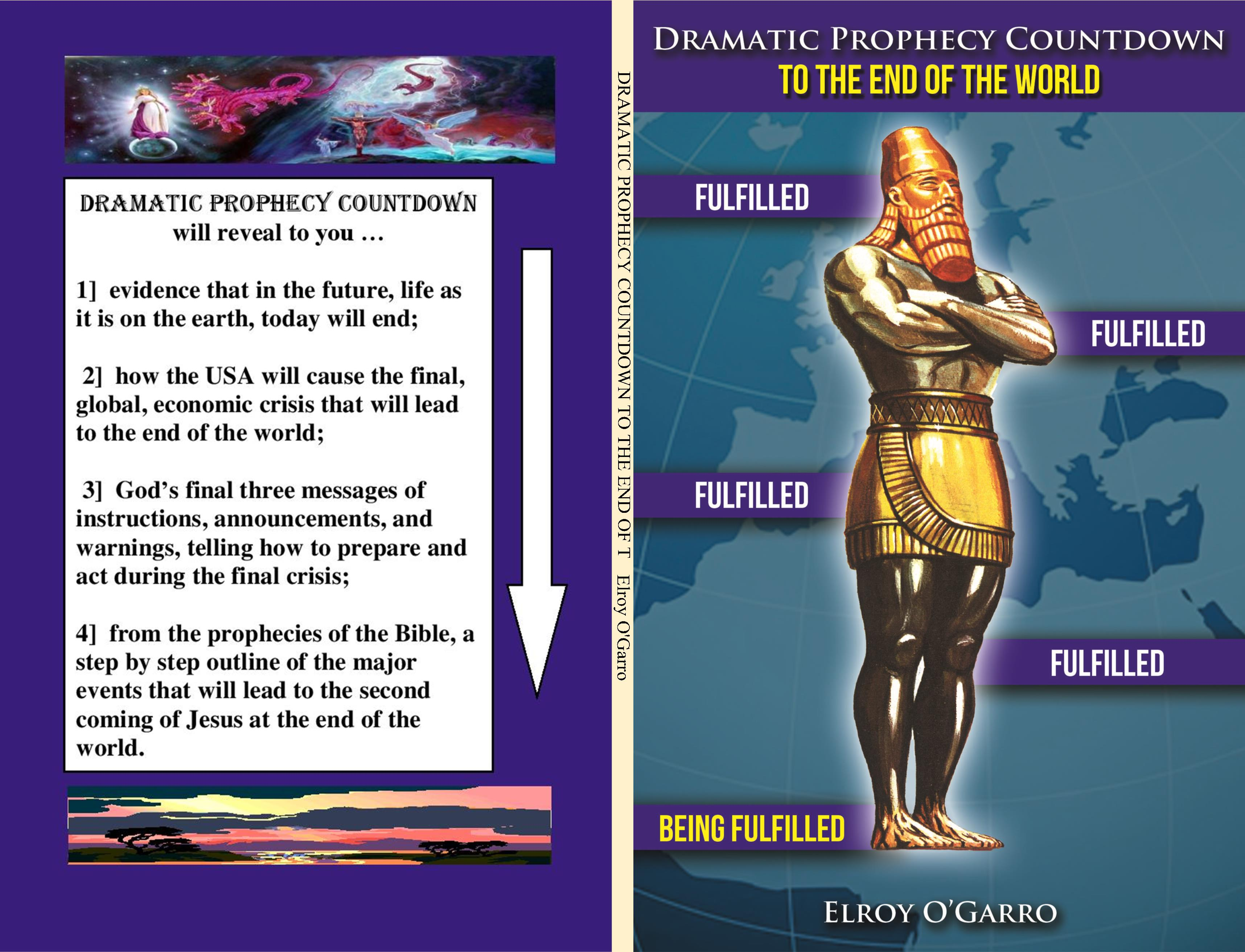 DRAMATIC PROPHECY COUNTDOWN TO THE END OF THE WORLD cover image