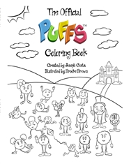 The Official Puffs Coloring Book cover image