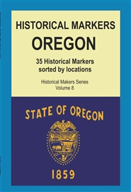 Historical Markers OREGON cover image
