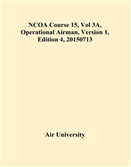 NCOA Course 15, Vol 3A, Operational Airman, Version 1, Edition 4, 20150713 cover image