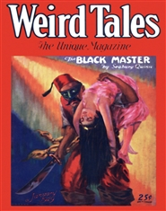 Weird Tales 1929 January cover image