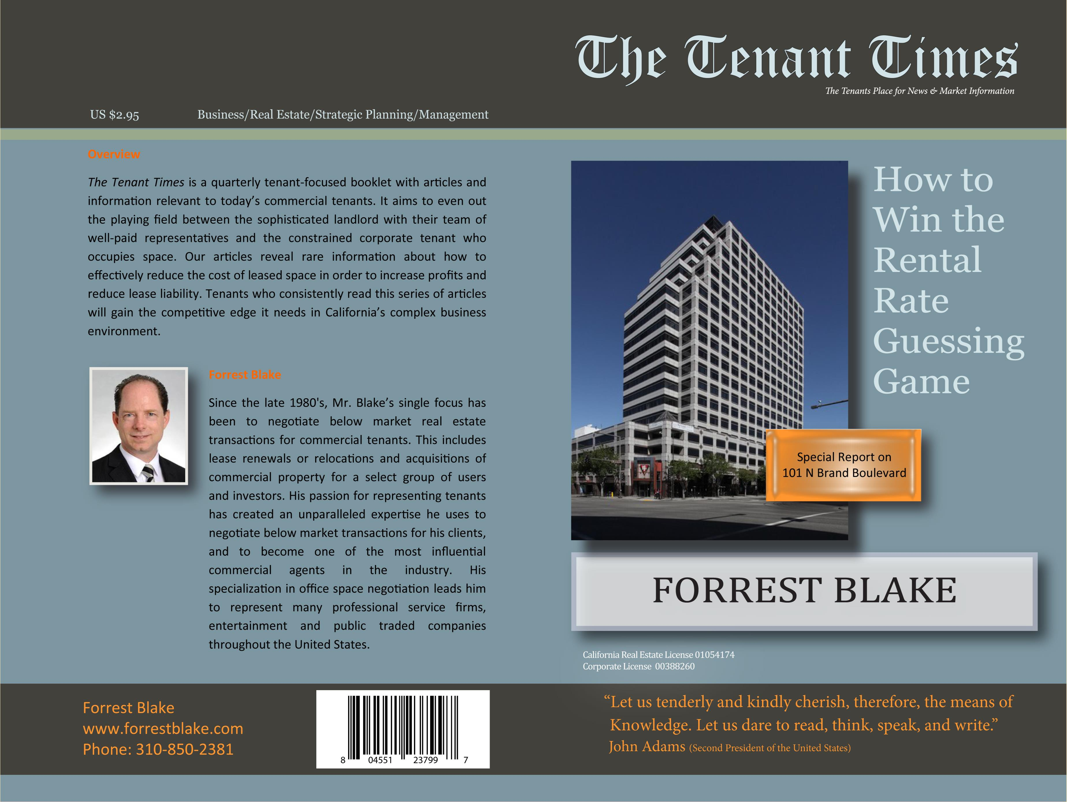 2Q Tenant Times 101 N Brand cover image