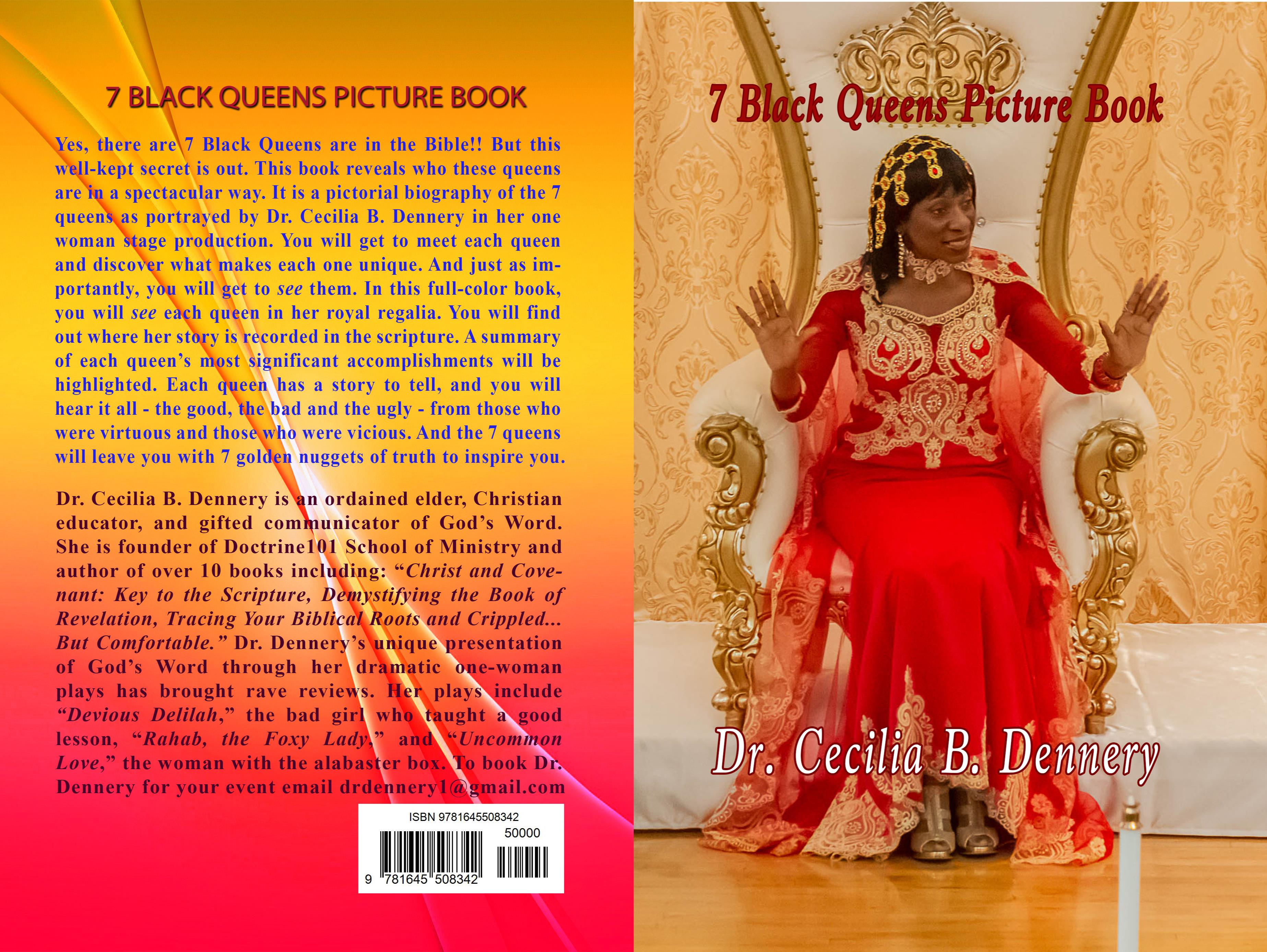 7 Black Queens Picture Book cover image