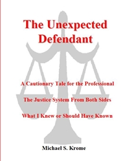 The Unexpected Defendant A ... cover image