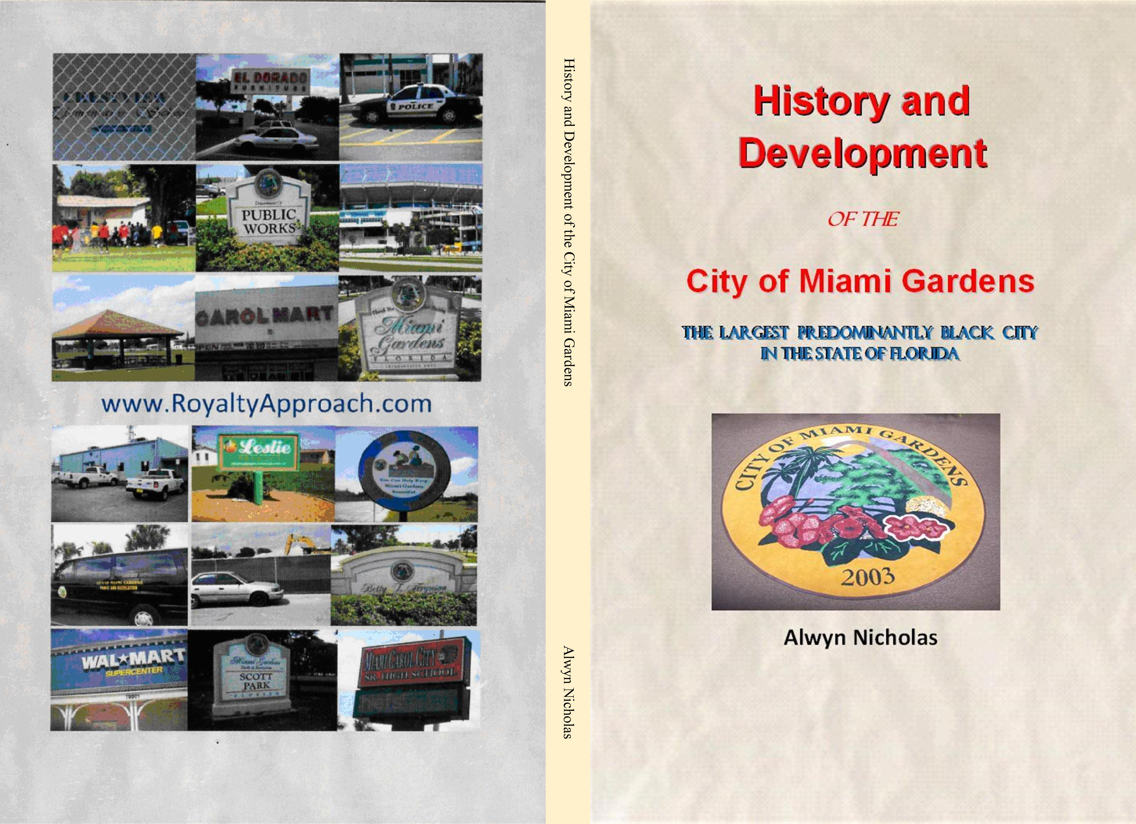 History and Development of the City of Miami Gardens cover image