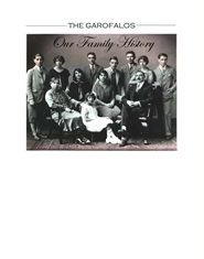 The Garofalos - Our Family History cover image