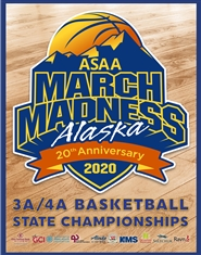 2020 3A/4A Basketball State Championship Qualifiers Program cover image