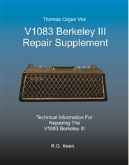 V1083 Berkeley III Repair Supplement cover image