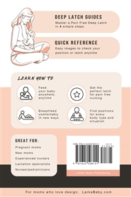 A Minimalist's Guide - Breastfeeding Positions: Illustrated Guide to Master Pain-Free Nursing  cover image