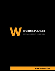 2019 WODOPE PLANNER cover image
