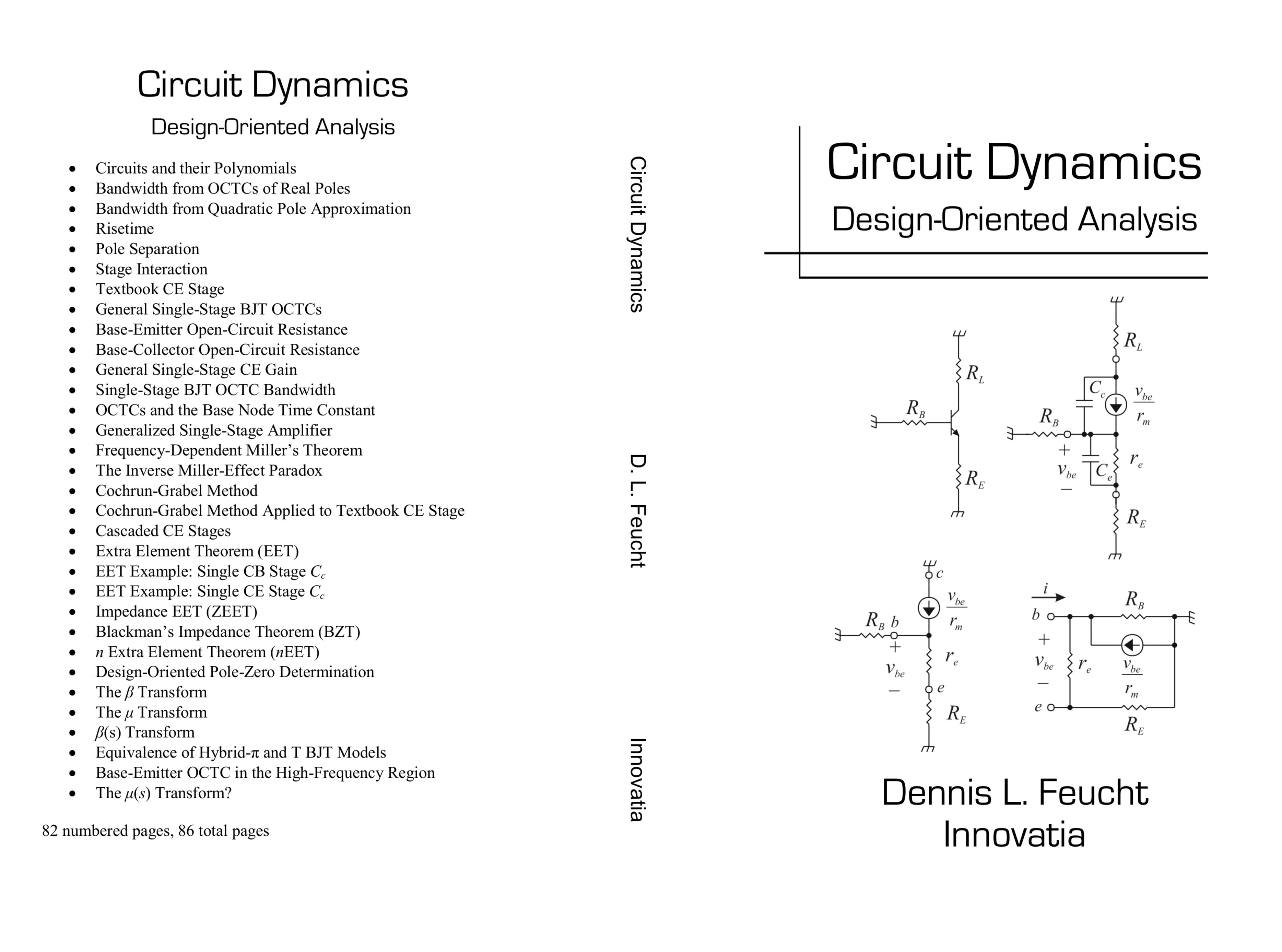 Circuit Dynamics: Design-Oriented Analysis cover image