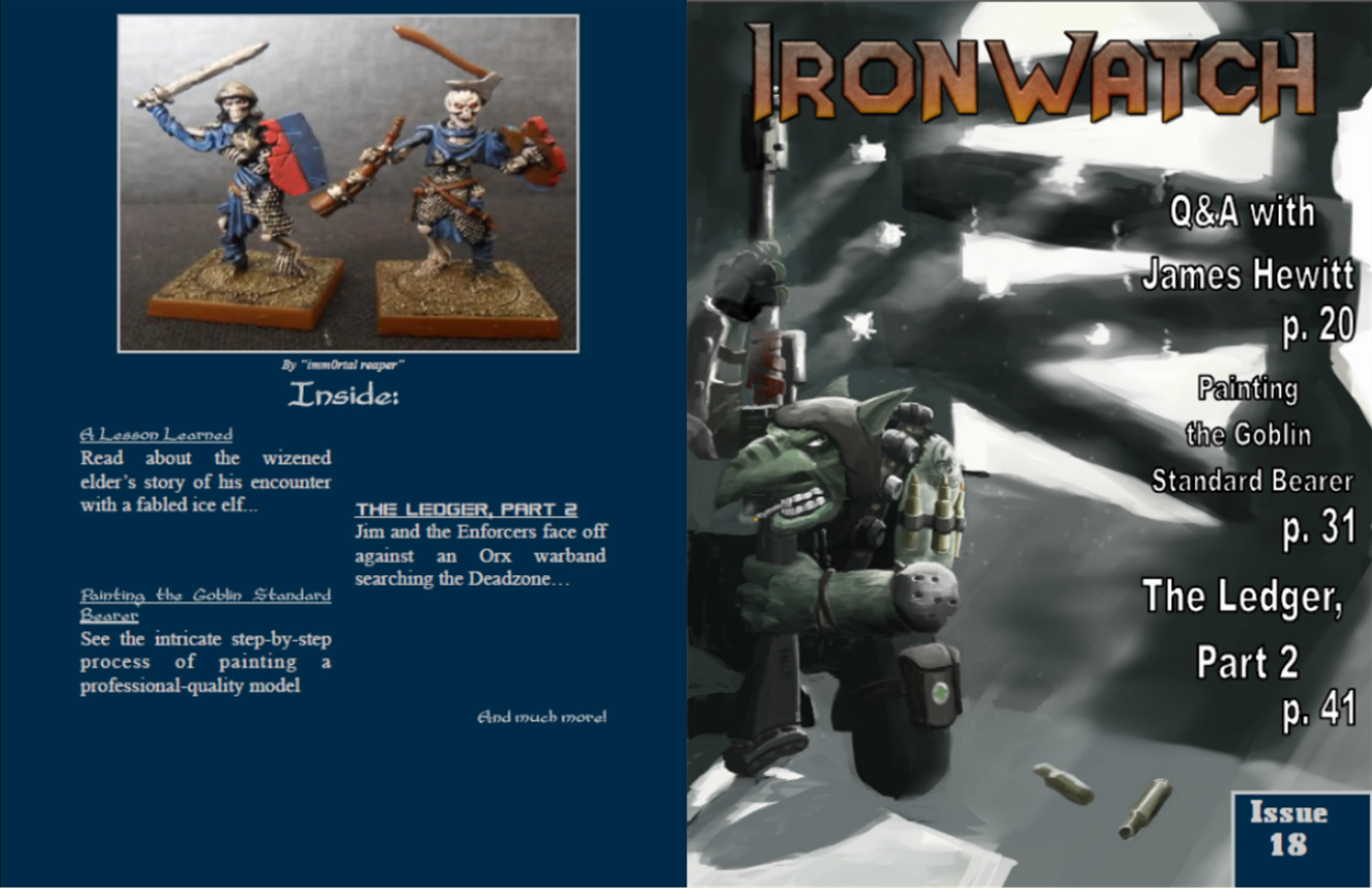 Ironwatch Issue 18 cover image