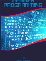 A DISCIPLINE IN PROGRAMMING cover image