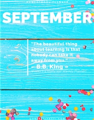 September 2020 HomeSchool Planner cover image