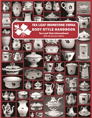Tea Leaf Ironstone China Body Style Handbook - 40th Anniversary Edition -2019 cover image