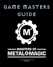 Masters of Metal & Magic - Game Masters Guide cover image