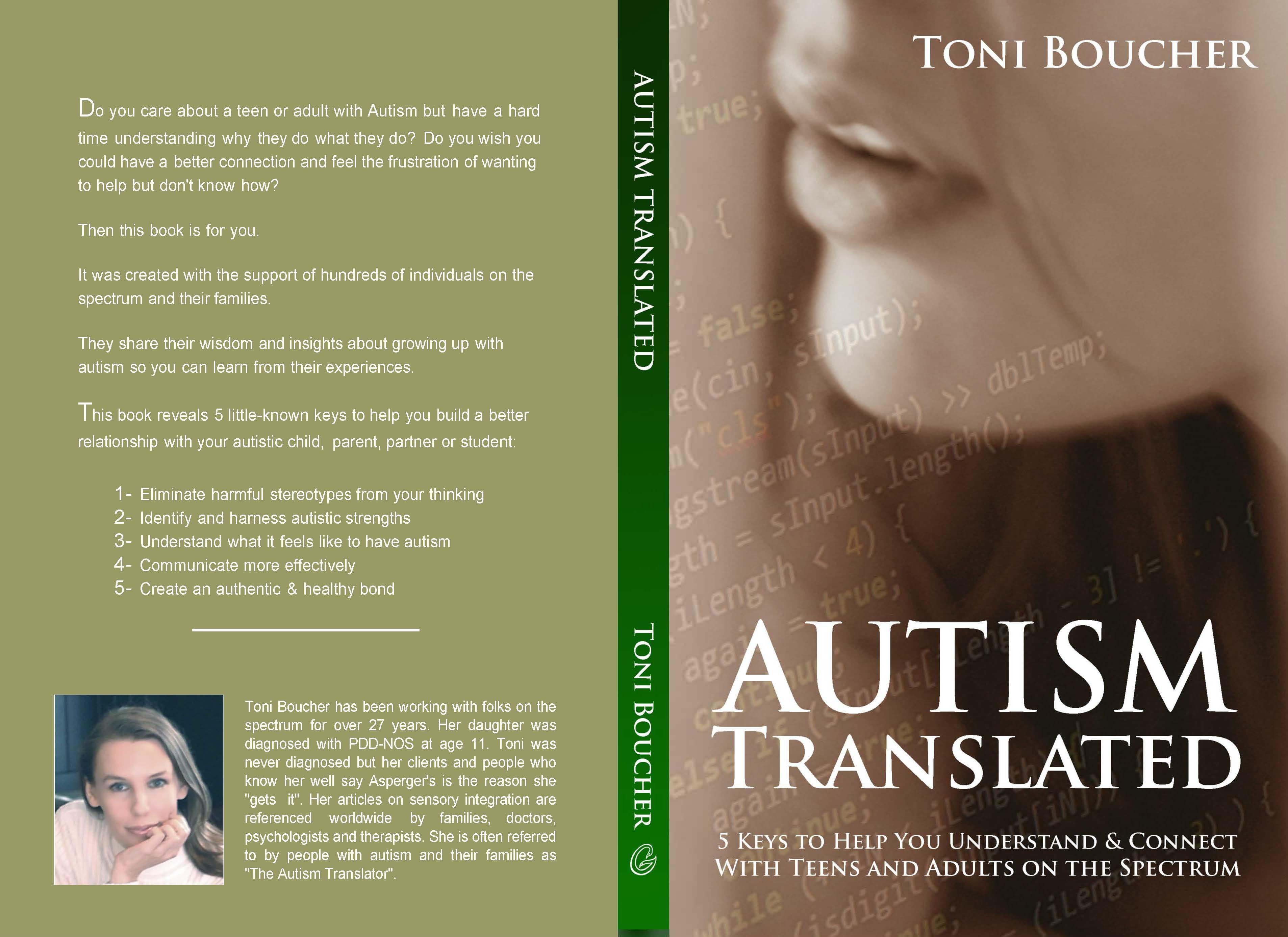 Autism Translated: 5 Keys to Help You Understand & Connect With Teens and Adults on the Spectrum cover image