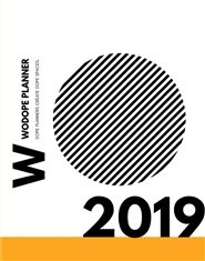 2019 WODOPE PLANNER [BLACK + WHITE] cover image