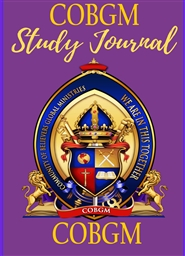 COBGM Study Journal cover image