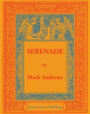 Andrews, Mark: Serenade for the organ cover image