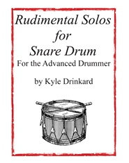 Rudimental Solos for Snare Drum for the Advanced Drummer cover image