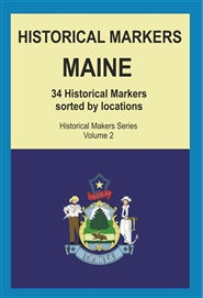 Historical Markers MAINE cover image