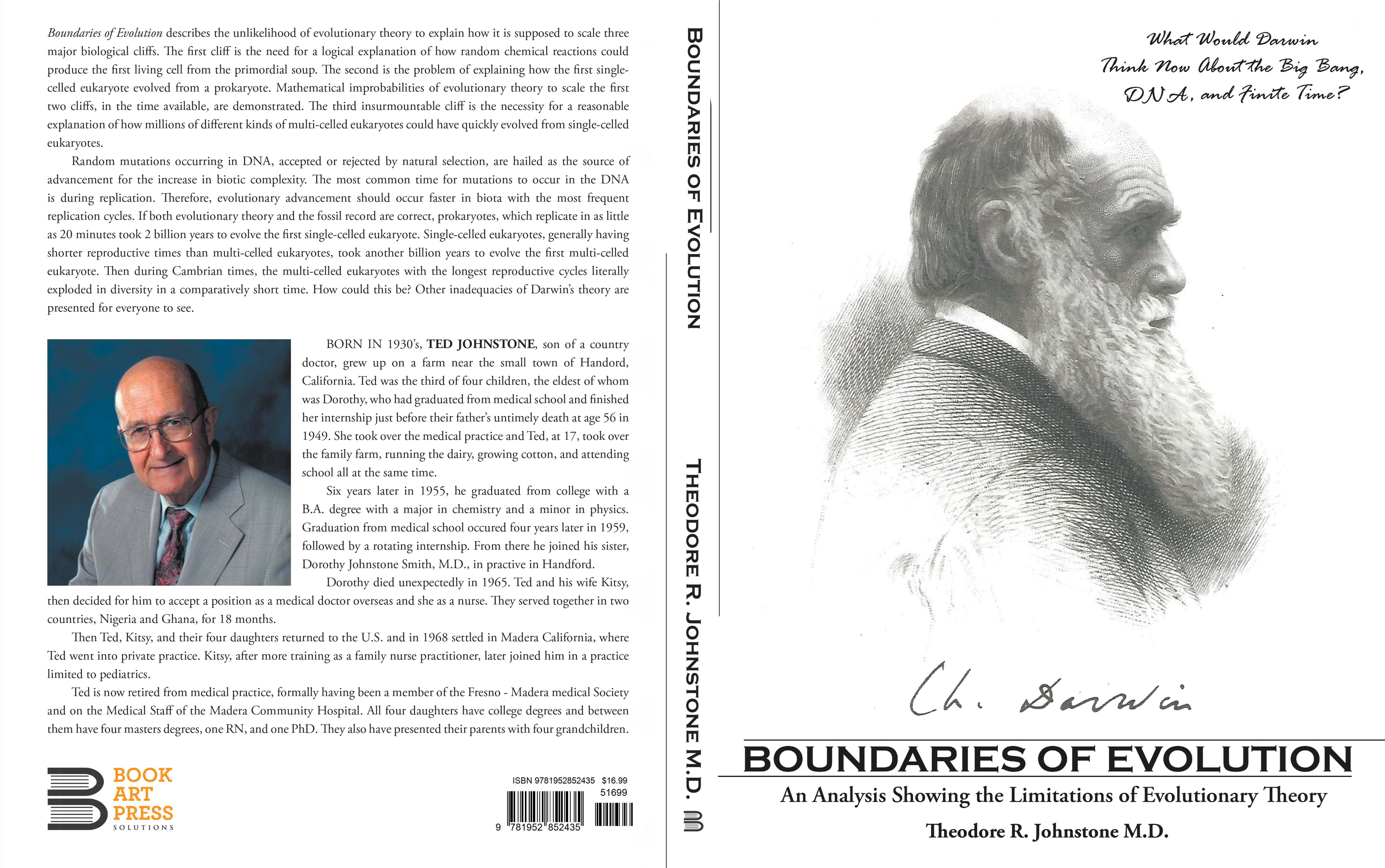 Boundaries Of Evolution: What Would Darwin Think Now About The Big Bang, DNA, And Finite Time? cover image