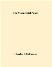 For Managerial Pupils cover image