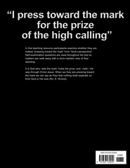 """I press toward the mark for the prize of the high calling"" cover image"