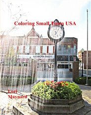 Coloring Small Town USA cover image