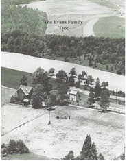 The Evans Family Tree Book 1 cover image