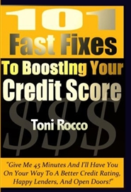 101 Fast Fixes to Boosting Your Credit Score cover image