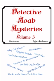 Detective Moab Mysteries Vol 3 cover image