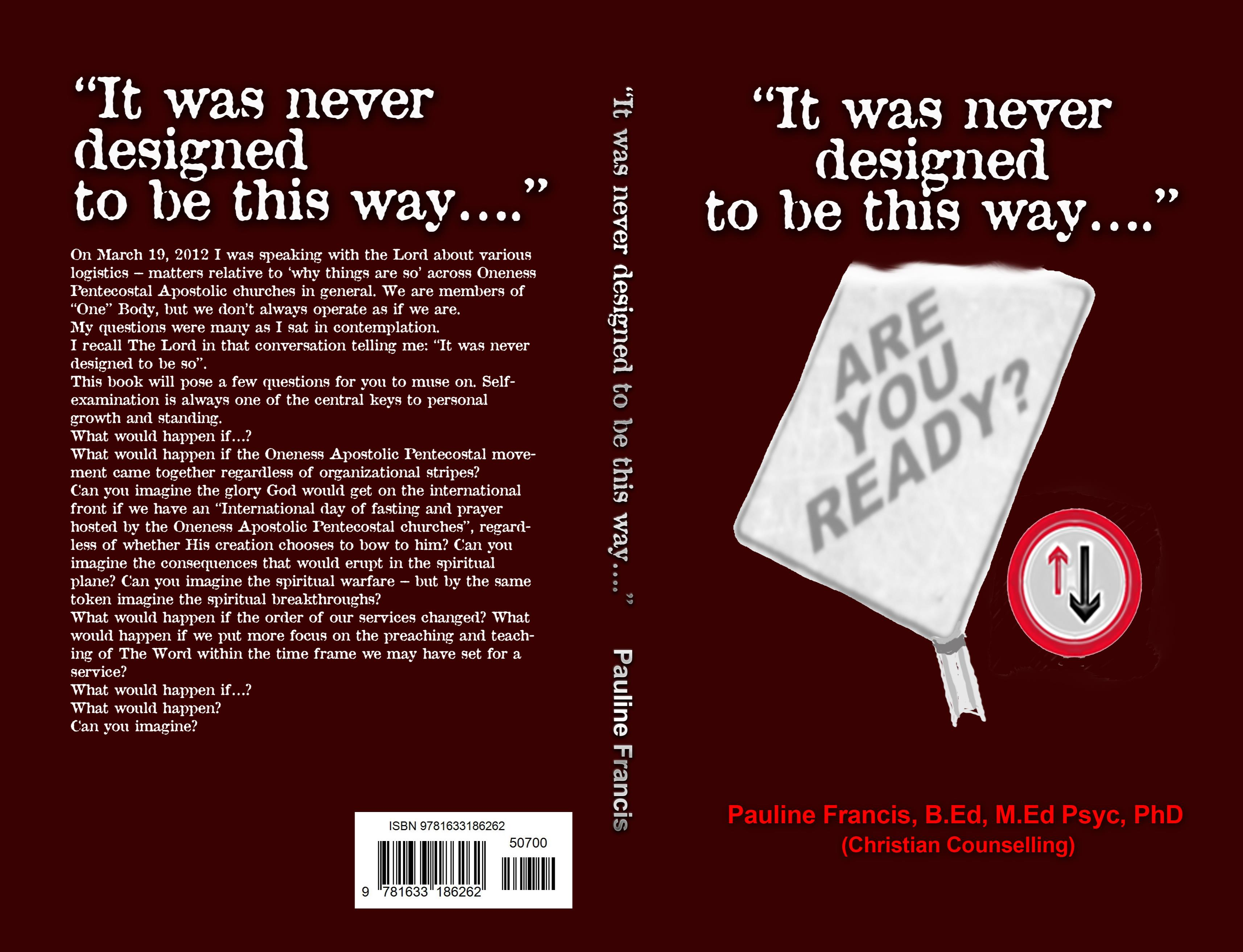 """It was never designed to be this way…."" cover image"