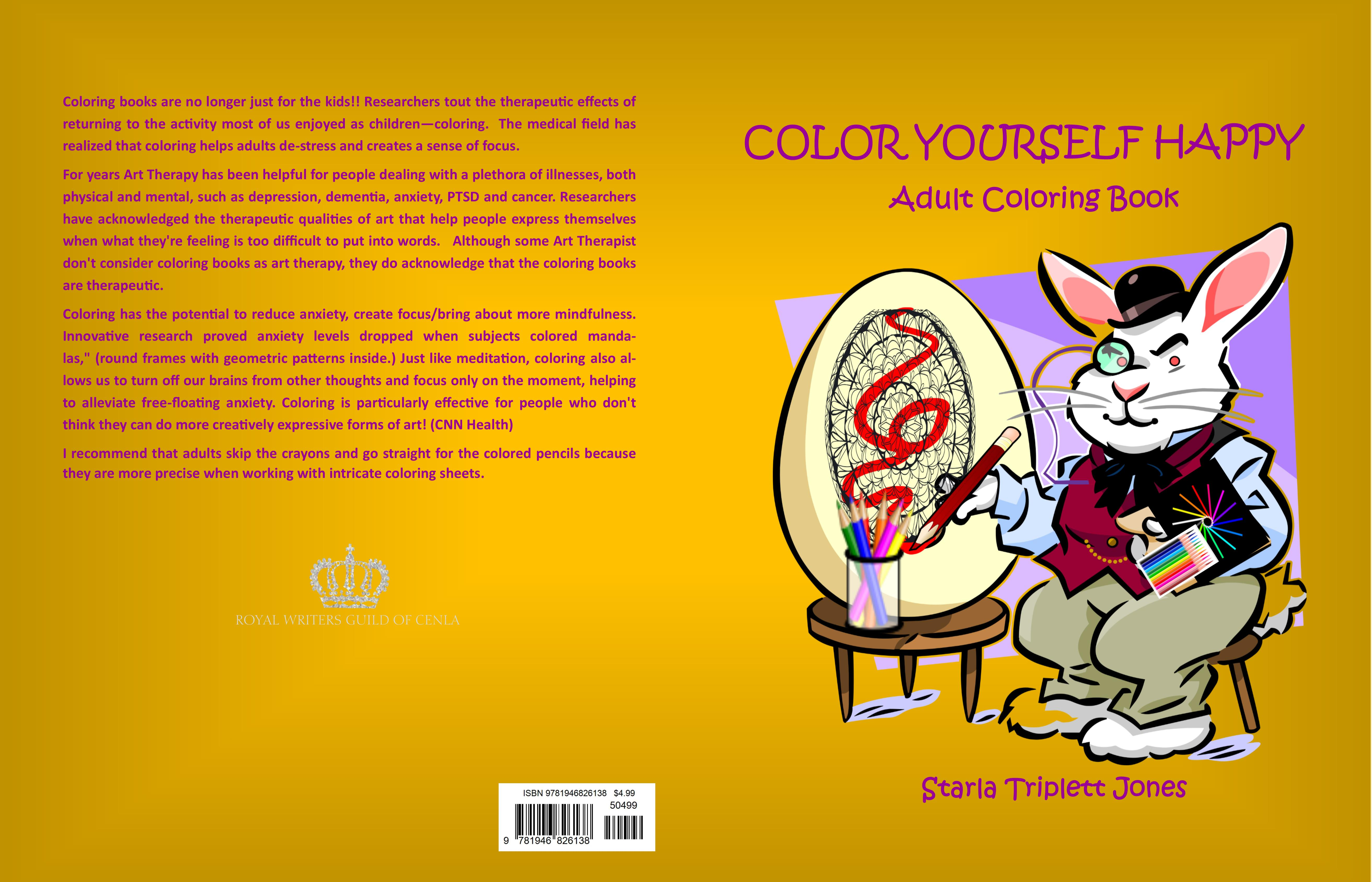 Color Yourself Happy cover image